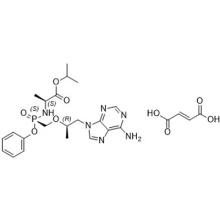Tenofovir Alafenamide Fumarate (GS7340; GS-7340; GS 7340) Número CAS 379270-38-9