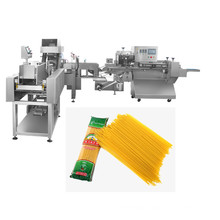 automatic spaghetti flow filling weighing packaging machine