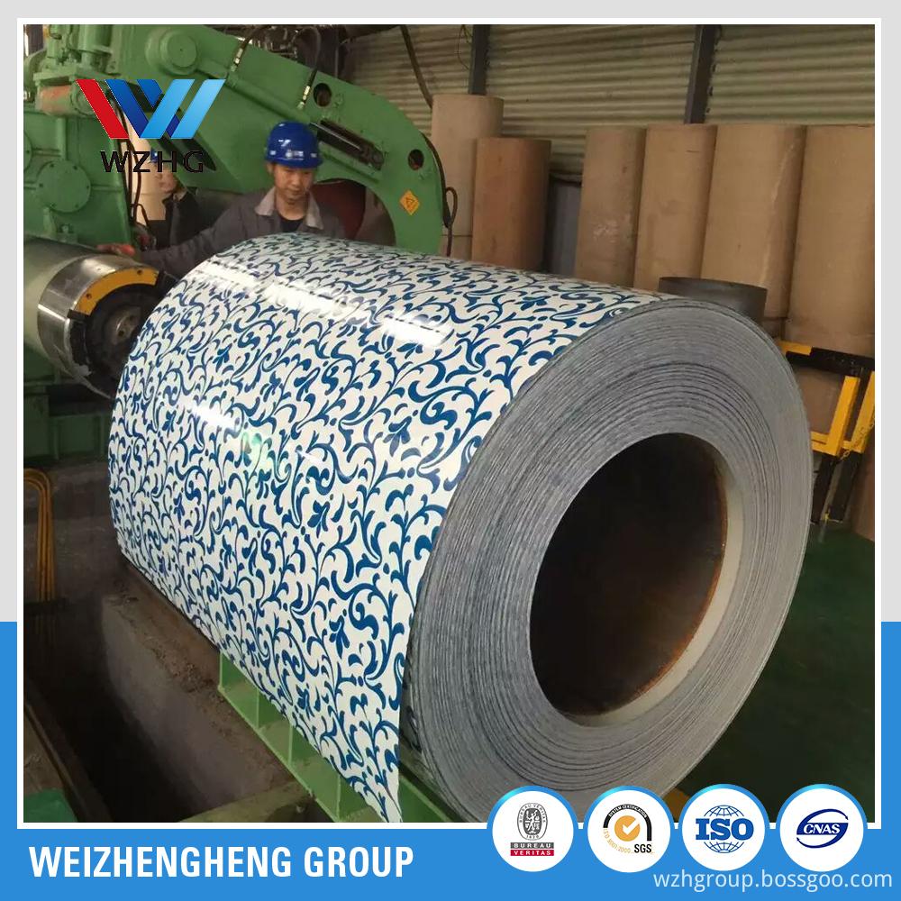 SGCC PPGI coil Prepainted Galvanized Steel Coil manufacturer China supplier