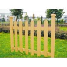 1000 * 1000 2014 Eco-Friendly Venda quente baratos ao ar livre plástico composto de madeira / WPC Fence