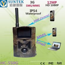 3G SMS MMS Wide Angel Scouting Cámara de caza