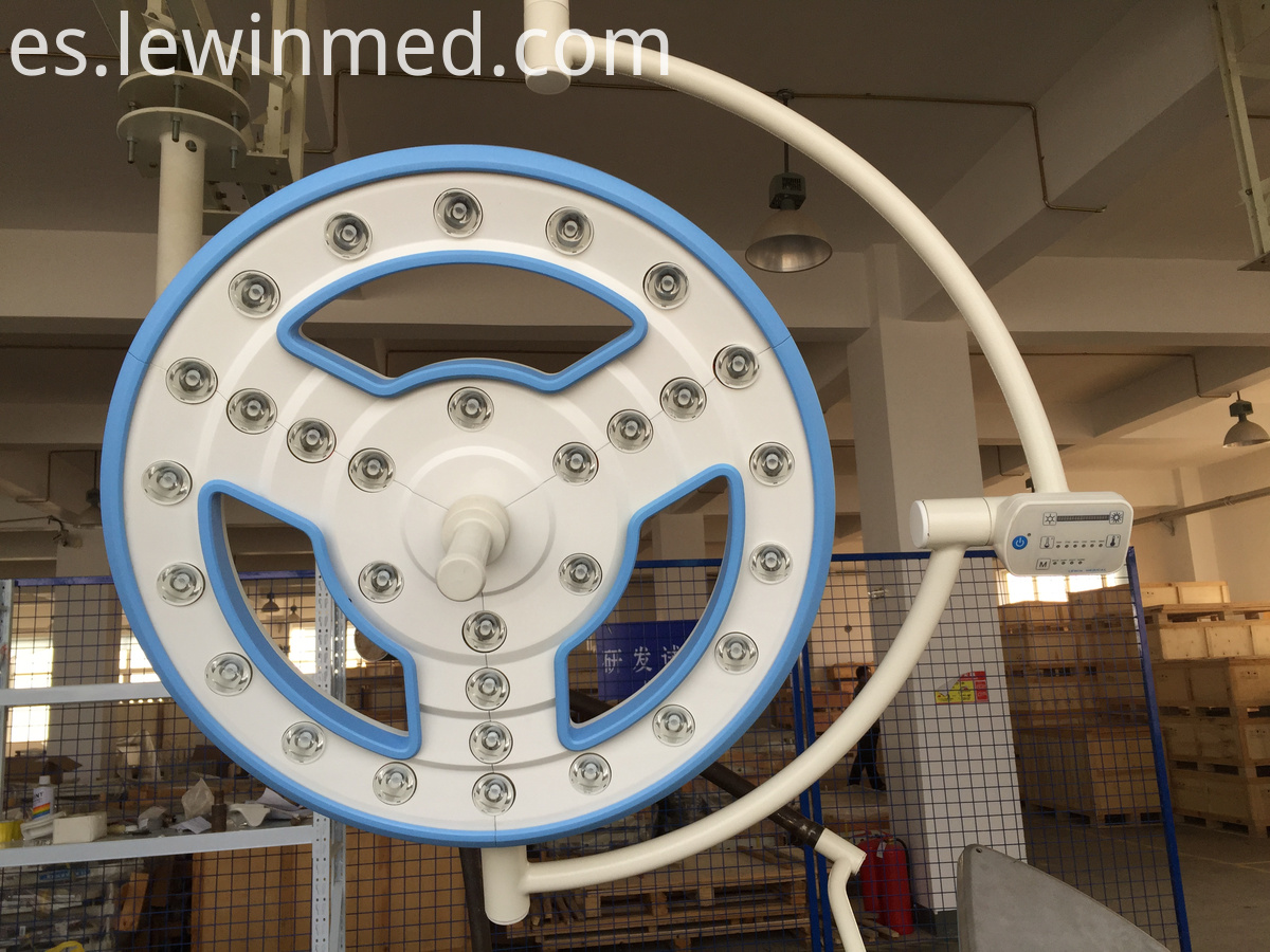 Hollow led medical light
