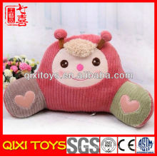Wholesale ladybird cushion plush backrest cushion for sofa, cars, chairs