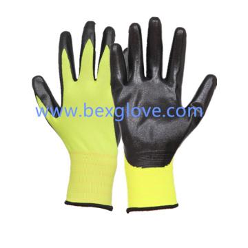 13 Gauge Fluores Полиэфирные нитевидные перчатки