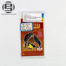 Высокое качество ldpe пластичный плоский мешок для птиц продукты