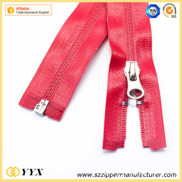 Buka End Shiny Waterproof Coil Zipper