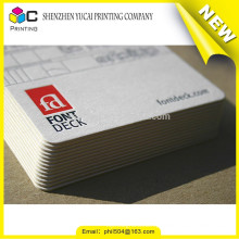 Digital Printing Art Paper luxury recycled business card printer