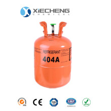 Factory directly supply for Commercial Air Conditioner Refrigerants Hihg purity Mixed Refrigerant r404a price export to Trinidad and Tobago Supplier