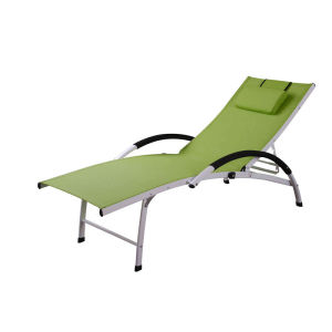 Aluminum adjustable lounge