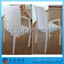 Moule de chaise d'injection d'osier / rotin de polypropylène fait en Chine