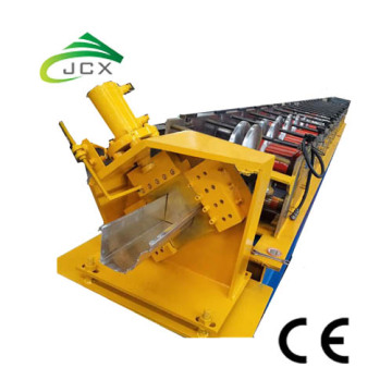 อลูมิเนียม Rain Water Gutter Roll Forming Machine