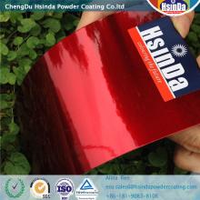 Cnady Red Effect Epoxy Polyester Powder Coating