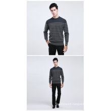 Yak Wool/Cashmere Round Neck Pullover Long Sleeve Sweater/Clothing/Garment/Knitwear