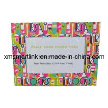 Frame magnético da foto do refrigerador, papel promocional do papel de foto magnético