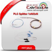 China fornecedor de alta qualidade PLC Splitter 1xn_2xn acoplador óptico