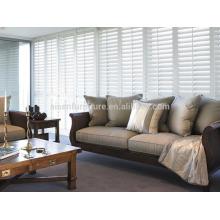 2015 Top-Verkauf Plantage Rollläden pvc moderne z-förmige Tür Scharnier unten Scharnier pvc Fensterläden in PVC für Möbel
