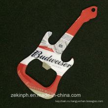 Утюг Проштемпелеванное печатание Консервооткрывателя бутылки keychain с эпоксидной смолой