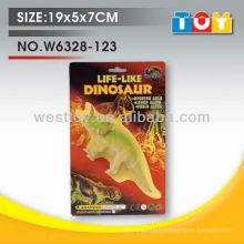 Soft rubber rhino animal playset