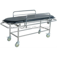 Chariot médical en acier inoxydable pour urgence