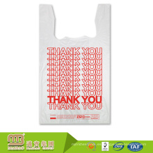 El logotipo plástico de la camiseta del Hdpe de la impresión del precio más barato de Guangzhou Maibao lleva el paquete del bolso Fabricantes