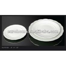 Plaques de thé d'après-midi plaques de céramique en porcelaine-guangzhou P0164