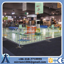 2015 new design hot sale price advantage welded hot dip galvanized event barrier