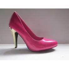 Nova moda sapatos de salto alto vestido para as mulheres (hyy03-005)
