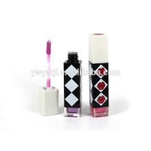 Fábrica faz 2015 venda quente nova design cosmético descasque fora brilho labial em massa