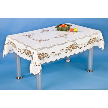 LFGB140 * 180cm PVC druckte transparente Tischdecke des unabhängigen Entwurfs und wasserdicht, ölbeständige Eigenschaft für Haus / im Freien