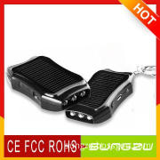 Key Chain Size Solar Charger Emergency Power