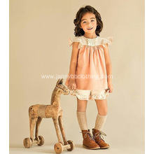 children girls flutter sleeve tunic dress set