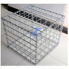 1X1X1m caixa de gabião de malha de arame soldada