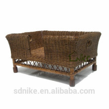 hot sale indoor rattan large dog cage dog cage for sale cheap