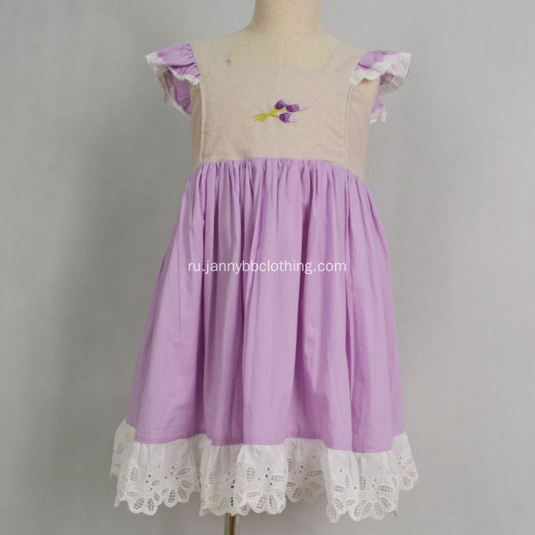 Smocked Girls Boutique Одежда WDW Платье римейк