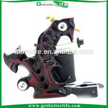 Prix usine Getbetterlife Casting Machine à tatouer Shader aluminium alliage 10Coils