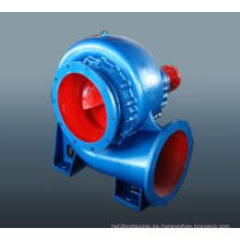 Bomba de agua de riego de flujo horizontal pesado alta eficiencia mezcla flujo