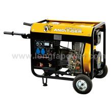 5 ква дизельный генератор открытого типа генератор Цена с CE, аттестациями soncap