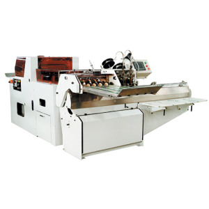 CS380 Combinado de tipo Split Saddle Stitching Trimm de tres cuchillas