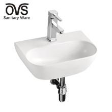 rectangular wall mounted narrow sink
