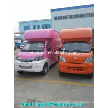 Boa qualidade de ChangAn barato mini loja móvel, veículos de vendas móveis para venda
