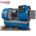 Wheel Polishing Machine Car Alloy Wheel Rim Repair Slant CNC Lathe Machine AWR2840