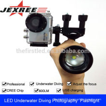 JEXREE New video film equipment waterproof scuba diving equipment photography video light