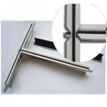 Schwarzes Nut-verschobenes Decken-Metallstahlprofil (32 * 24)