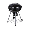 22,5 Zoll Holzkohlekessel Barbecue Grill Schwarz