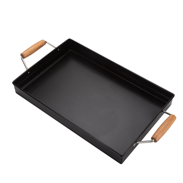 Square Party fruit Serving Tray Metal