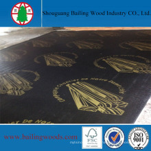 Brown Film Faced Plywood con Logo 1220X2440X18mm