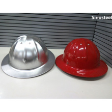 Adjustable Industrial T Type Aluminum Safety Helmet Hard Hat