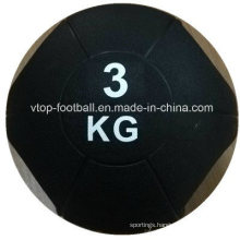 Two Color Rubber Medicine Ball with High Quality