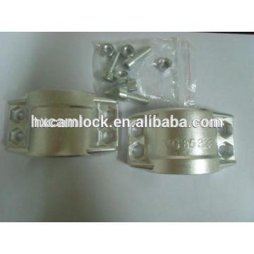 DIN2817 / EN14420-3 CLAMP ALUMINUM BRASS SS316
