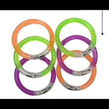 स्वनिर्धारित एलईडी Wristbands के प्रचारक उपहार